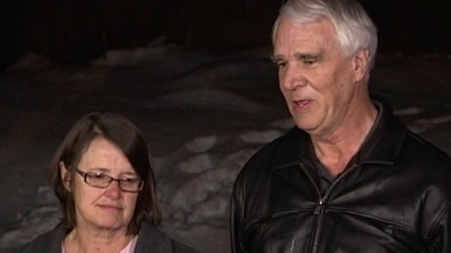 VIDEO: James and Karen Reynolds were held hostage by the ex-LAPD officer for 15 minutes.