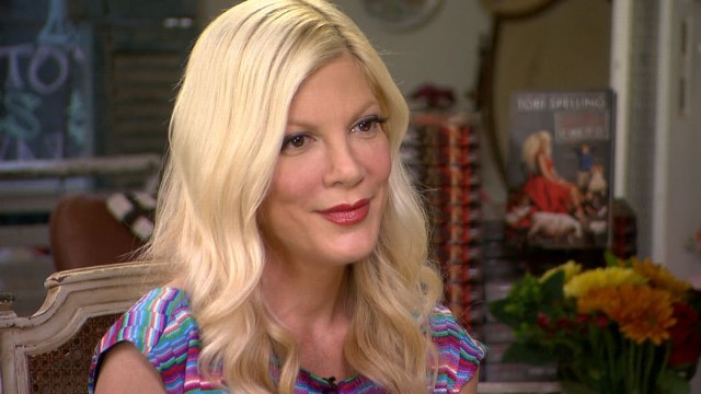 "VIDEO: Actress discuses tabloid headlines and motherhood in new book ""Spelling It Like It Is."""