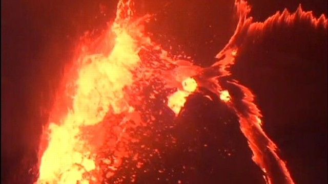 VIDEO: Lava Lake Bubbles Up in Hawaii