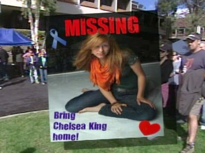 VIDEO: Searching for missing teen Chelsea King
