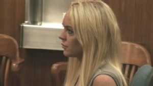 VIDEO: The 24-year-old actress spent her first night behind bars for a parole violation.