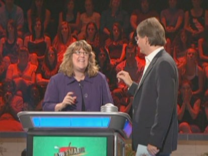 A picture of the superintendent on Are You Smarter Than a Fifth Grader.