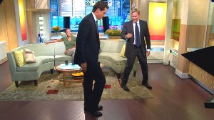 VIDEO: Chris Cuomo shows off his moonwalk.