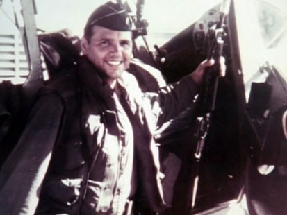 A picture of the figher pilot who was ordered to intercept a UFO.