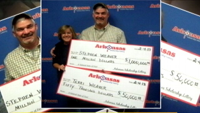 Video: Arkansas Couple Wins Lottery Twice in One Day