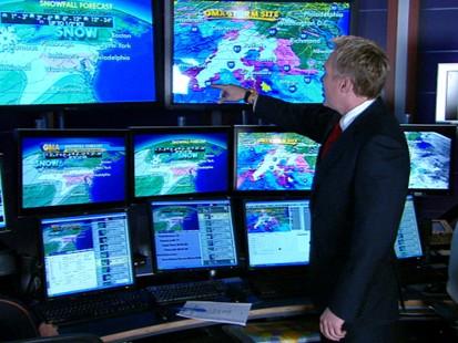 VIDEO: Winter Storm Packs a Wallop