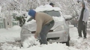 VIDEO: Snow Across the Country