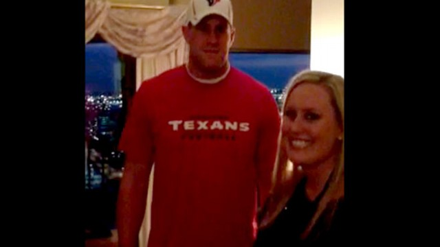 VIDEO: JJ Watt Surprises Newlyweds