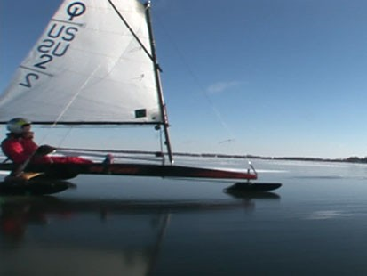 VIDEO: Sailing on Ice