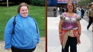 VIDEO: Georgia Davis cuts calories and uses therapy to lose hundreds of pounds.