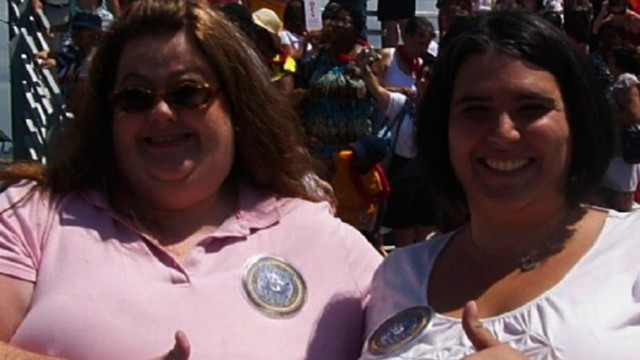 "VIDEO: Ann Moyer and Diana Ritchie discuss life before and after being ""super morbidly obese."""