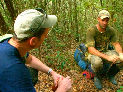 VIDEO: Ed Stafford spent a year hiking the length of the Amazon.