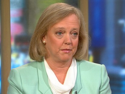 VIDEO: Former eBay chief talks about her run for governor of California.