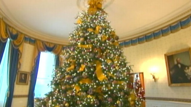 VIDEO: Claire Shipman on the tradition of decorating the White house for the holidays.