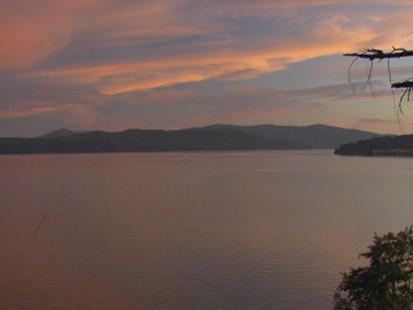 beautiful Lake Pend Orielle, Idaho