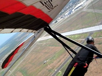 VIDEO: Soar Through the Sky with Pro Hang Gliders