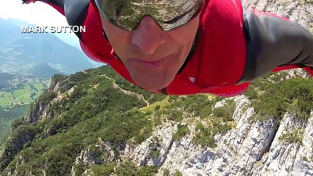 VIDEO: Mark Sutton?s jump in the Swiss Alps ended in tragedy.
