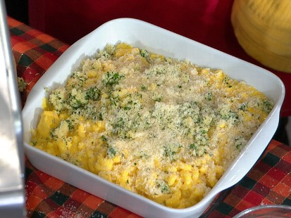 Baked Macaroni and Cheese with Turkey Leftovers Recipe | Wolfgang Puck ...