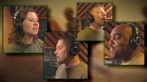 VIDEO: The members of 4Troops sing to honor and inspire their fellow soldiers.