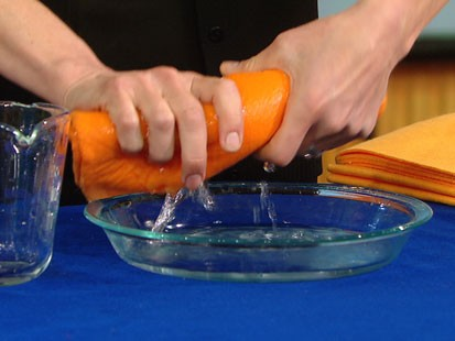 VIDEO: Becky Worley tests out the Snuggie, ShamWow, Mighty Mend-It and other products.