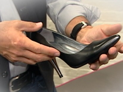 VIDEO: New technology could make those high heels comfortable to walk in.