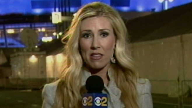 VIDEO: Grammys reporter did not suffer a stroke on air.