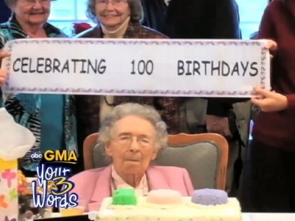 VIDEO: GMA fans express themselves using three words in viewer-submitted videos.