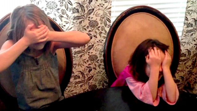 VIDEO: Sisters Cry Tears of Joy Over New Siblings
