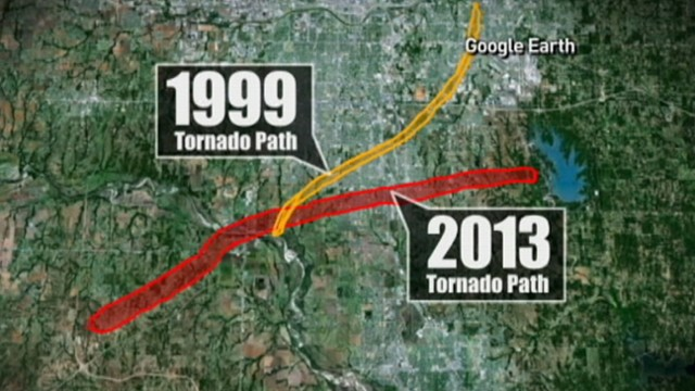 Video: Oklahoma Tornado Destroys City for 2nd Time