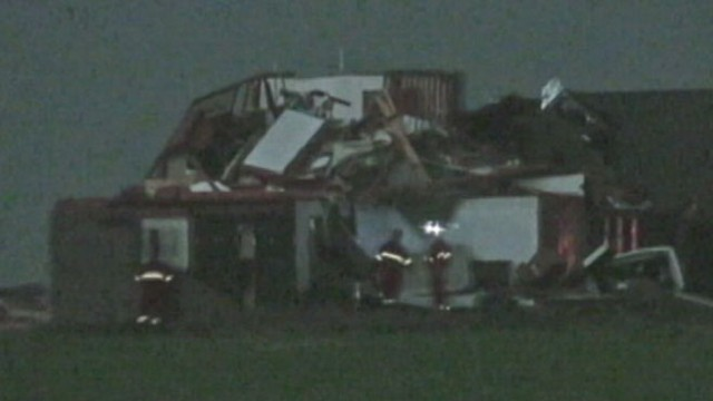 VIDEO: Oklahoma Tornadoes Devastat