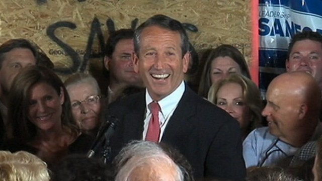 VIDEO: Mark Sanford has won a South Carolina congressional election.