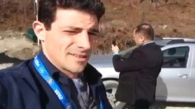 VIDEO: ABCs Matt Gutman is denied access to a kennel housing stray dogs in Sochi.