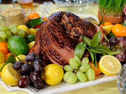 Emeril Lagasse's Easter: Spiced Honey and Lemon Baked Ham | Recipe ...
