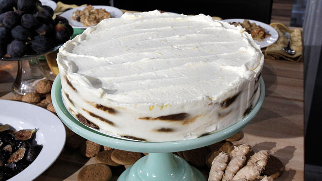 Gingerbread Icebox Cake With Mascarpone Mousse Recipe ...
