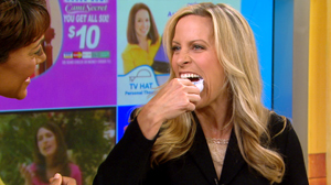 "PHOTO ""Good Morning America"" technology contributor Becky Worley puts an infomercial product to the test, Oct. 15, 2010."