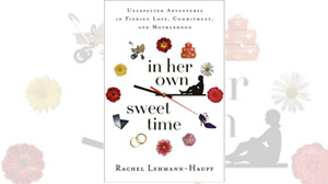In her own sweet time