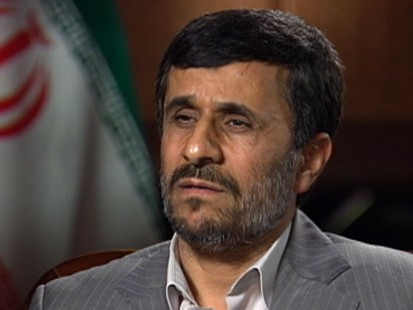 Ahmadinejad on American Hikers in Iran