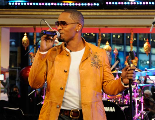 Jamie Foxx on GMA