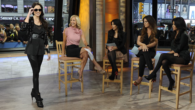 PHOTO: The Kardashian sisters have launched their new clothing line, the Kardashian Kollection at Sears. Ida Astute/ABC News
