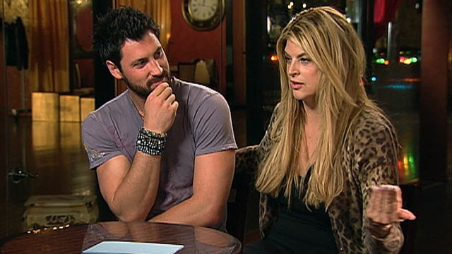 PHOTO: Kirstie Alley and partner Maksim Chmerkovskiy talk about