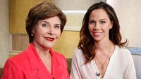 PHOTO Barbara Bush Junior and her mom, former First Lady Laura Bush speak chat with GMA, to be aired June 4, 2010.