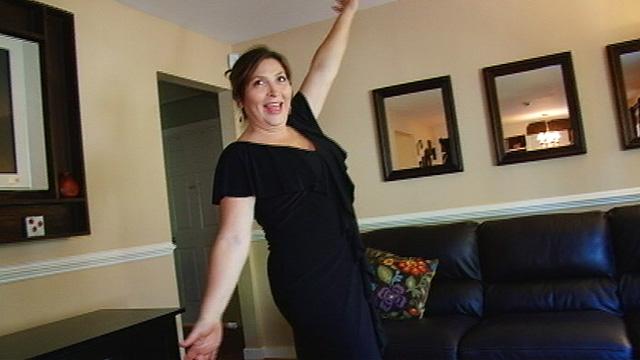 PHOTO:Lauren Bays after her plastic surgery.