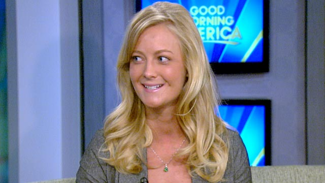 """PHOTO:Lydia Strunk talks about her shark attack on """"Good Morning America."""""""