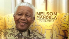 "Former South African president ""passed on peacefully in the company of his family."""