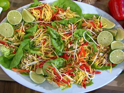 Photo Carol Alt S Thai Style Mango Salad Is Shown Here