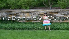 VIDEO: Canadian Hannah Robertson, 9, attended McDonald's shareholder meeting in Oak Brook, Ill.