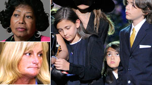 Custody agreement reached over Michael Jacksons kids