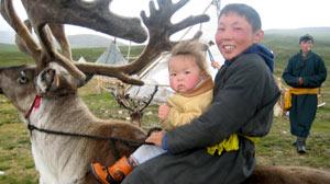 Reindeer Herders in Mongolia