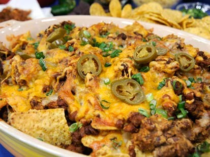 Spicy Sausage, Bean and Cheese Nachos | Recipe - ABC News
