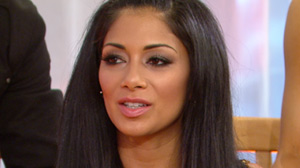Nicole Scherzinger talked about wi